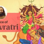 How SriSri Ravishankar prays Goddess Durga in Navratri ?