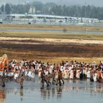 Kerala : Planes pave way for the God at the Thiruvananthapuram International Airport