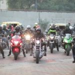 ''शांत मन से वाहन चालने'' के संदेश के साथ दिल्ली में आयोजित हुई बाइक रैली