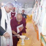 बौद्ध भगवान जिग्तेन का 800वां महापरिनिर्वाण महोत्सव शुरू