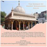 803th Birthday Celebration of Hazrat Nizamuddin Aulia on 14th November