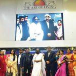 """श्रीश्री रविशंकर ने """"कश्मीर"""" को दिया """"पैगाम-ए-मोहब्बत"""" का संदेश"""