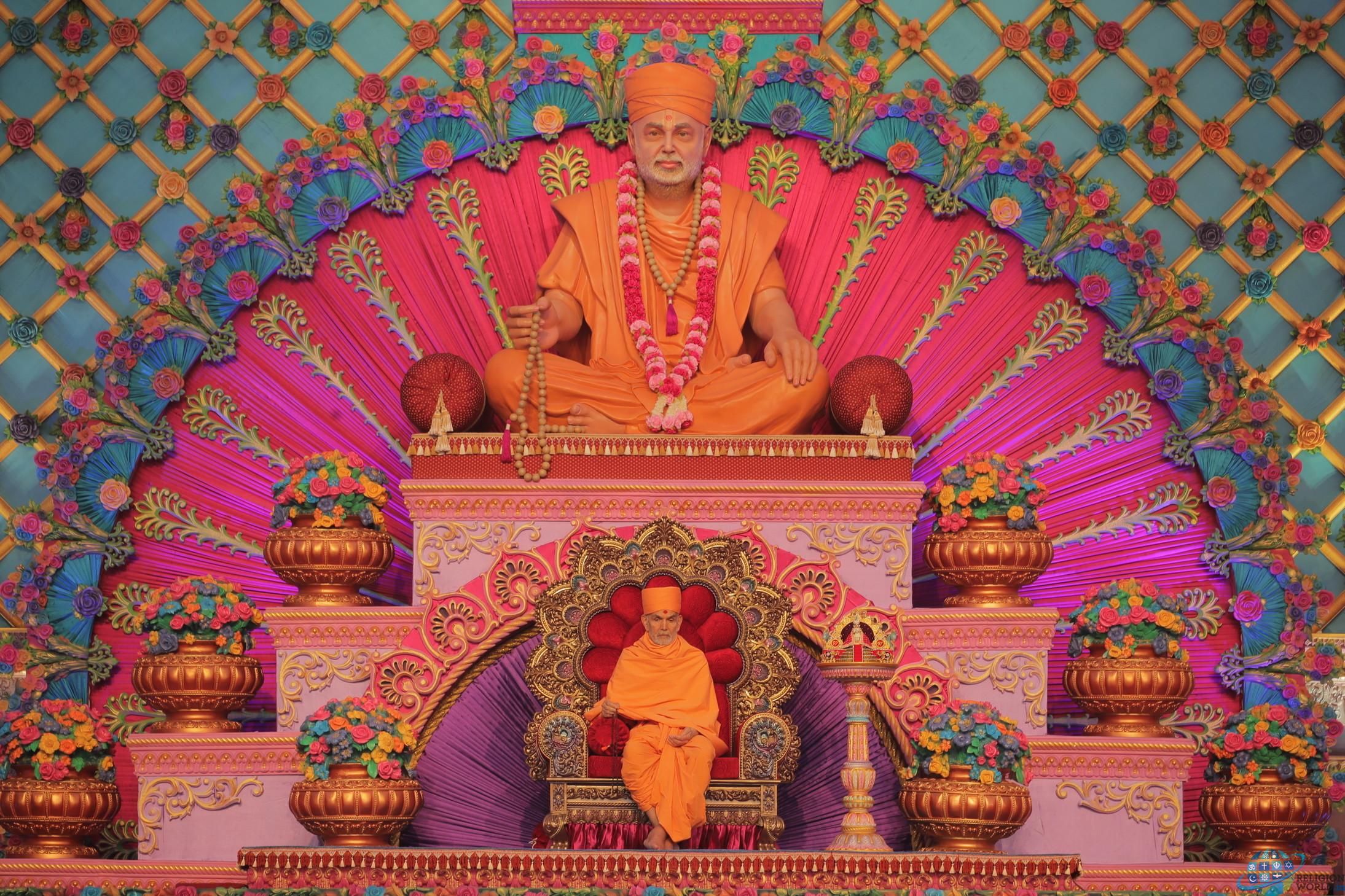 Happy New Year Mahant Swami 56