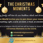 "Christmas Moments : "" Share the Love by giving to the Needy"", Jyothi Peterson"