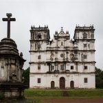 """""""50 stars of Christmas"""" : St. Anne church, Goa – Masterpiece of the Indian Baroque style"""