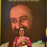 The Launching of 'Gurudev: On the Plateau of the Peak' – A biography of SriSri Ravishankar by his sister, Smt. Bhanumathi Narasimhan
