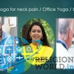 Easiest Yoga For Neck Pain : You can do this in Office on Chair