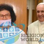 जैन मुनि आचार्य लोकेश विश्व शांति व सद्भावना यात्रा पर यूरोप के लिए रवाना, पोप फ्रांसिस से करेंगे मुलाकात