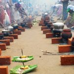 Thousands of women throng 'Attukal Temple' and offer 'Pongala'