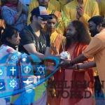 भारतीय फिल्म निर्देशक और सम्पादक श्री नारायण सिंह पधारे परमार्थ निकेतन