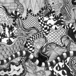 Zentangle आर्ट : बौद्ध और जैन धर्म में मैडिटेशन के लिए इस्तेमाल की जाने वाली कला