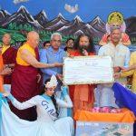 """परमार्थ निकेतन में मनाया गया स्वामी चिदानन्द सरस्वती का """"हरित जन्मदिन"""""""
