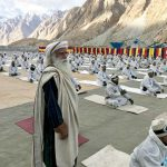 Yoga on the Glacier : Meeting the brave soldiers of Siachen