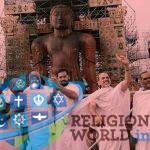 देश भर के 200 ब्रह्मचारियों ने किया गोम्मटेश्वर बाहुबली भगवान का अभिषेक
