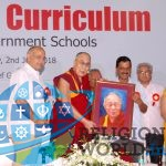 "HH Dalai Lama has launched ""Happiness Curriculum"" in the syllabus of of Education in Delhi"