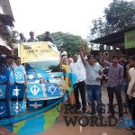 केरल में बाढ़ पीड़ितों की सेवा साधना : गायत्री परिवार ने निभाया मानव धर्म
