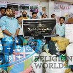 Kerala Flood Relief material sent from Ajmer Sharif to Calicut, Kerala