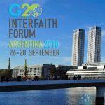 G20 Interfaith Forum 2018 in Buenos Aires, Argentina
