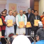 'Vedas – A New Perception' Coffee Table Book launched by Dr. Satyakam Bharadwaj Vedic Research Foundation