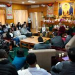 His Holiness the Dalai Lama in Discussions with Youth Leaders from Conflict Zones