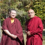 Karmapa Ogyen Trinley Dorje and Trinley Thaye Dorje met first time to know each other personally
