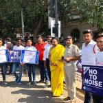 No To Noise Campaign inspire Delhiites : Day2 on Connaught Place & ITO
