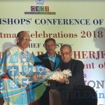 Christmas 2018 get-together of the Catholic Bishops' Conference of India