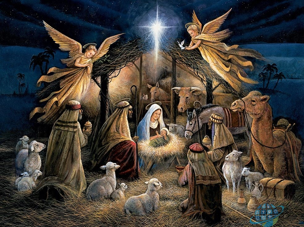 Christmas Jesus Birth Images.Christmas Gospels On The Birth Of Jesus Religion World