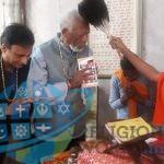 Morgan Freeman Spiritual meeting with Jain Guru in Nepal