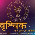 कैसा होगा साल 2019 : वृश्चिक राशि का वार्षिक राशिफल : Scorpio HOROSCOPE 2019