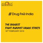 #DrugFreeIndia : Bollywood, Thousands Of Youth, Join Hands With Sri Sri Ravi Shankar-founded Art of Living in The Fight Against Drugs