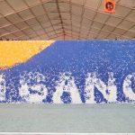 प्रयागराज कुम्भ में बना Guinness World Record – 7664 लोगों के हाथ से बनीं गंगा की पेंटिंग