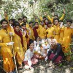 नववर्ष के पूर्व संध्या पर वृक्षारोपण का लिया व्रत