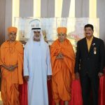 UAE gives a royal welcome to BAPS Spiritual Head His Holiness Mahant Swami Maharaj