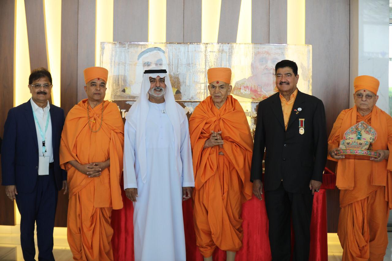 Happy New Year Mahant Swami 86