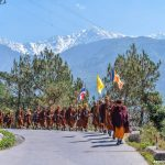 Walking Pilgrimages : 200 Monks Walking for Peace and Himalayas