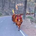 Photo Feature : Monks on Peace Walk : Thailand to Himalayas