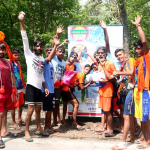 परमार्थ निकेतन द्वारा कांवड़ यात्रियों की सुविधा के लिये लगायें गयें 10 जल मन्दिर