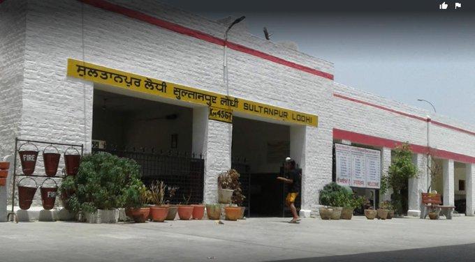 सुल्तानपुर लोधी स्टेशन गुरु नानकदेव जी के 550वें जन्मोत्सव