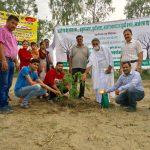 पंजाब में होशियारपुर में जैन संतों का वृक्षारोपण अभियान