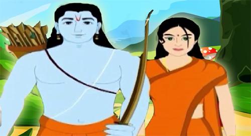 श्रीराम और सीता ने की थी सूर्य उपासना